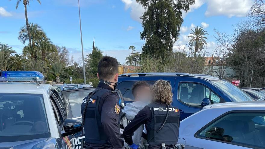 Cuatro detenidos en Murcia por robo con violencia y lesiones