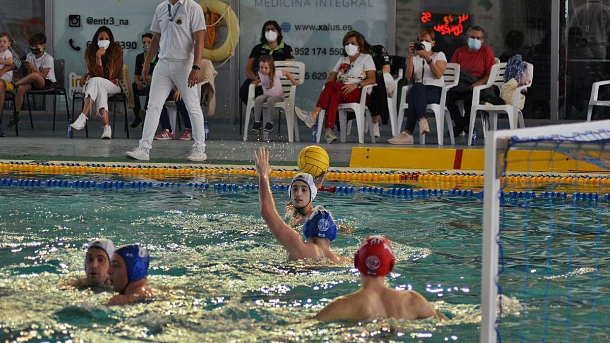 Este domingo vuelve el Waterpolo Málaga a la actividad competitiva.   L.O..