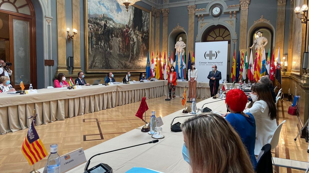 Reunión en el Senado del Pleno del Consejo Interterritorial del Sistema Nacional de Salud