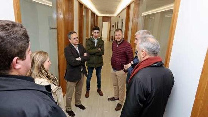 El centro de negocios del polígono recibió una ayuda de 200.000 euros