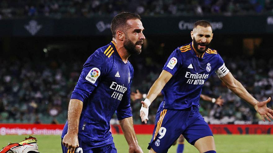 Carvajal devuelve la sonrisa al Madrid