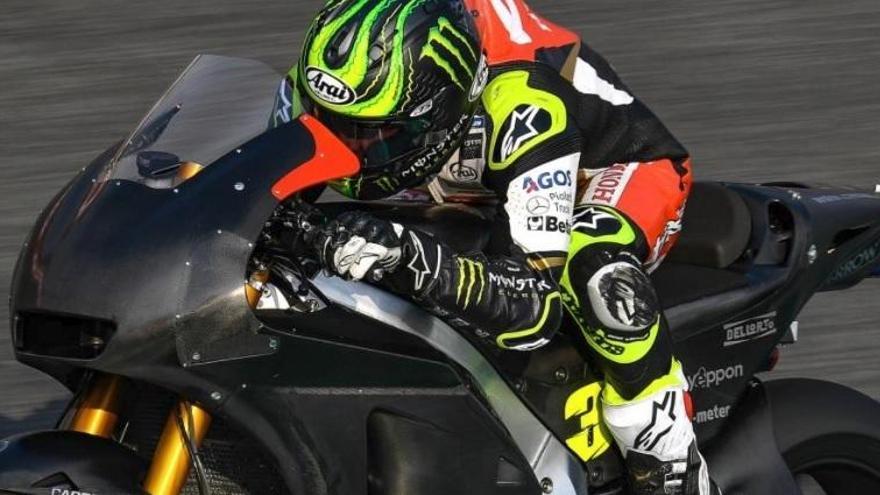 Crutchlow aconsegueix la pole a Jerez i Márquez sortirà cinquè