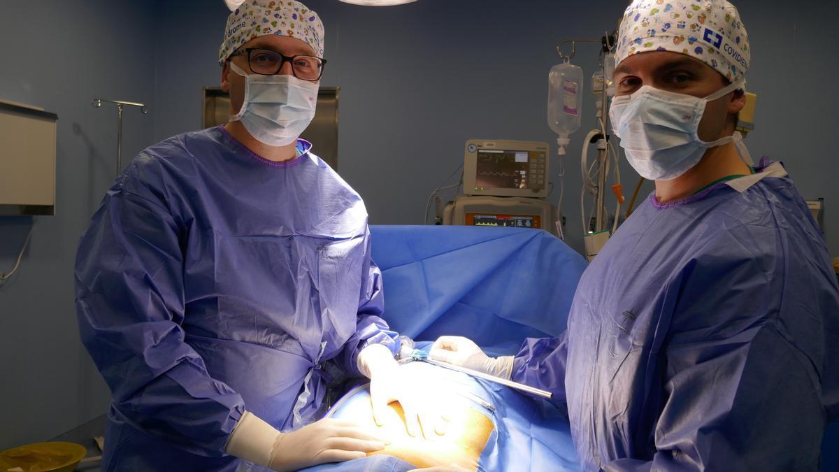 Vithas Aguas Vivas es pionero en la sanidad privada de la Comunitat Valenciana en el uso de mallas 3D para corrección de hernias inguinales.