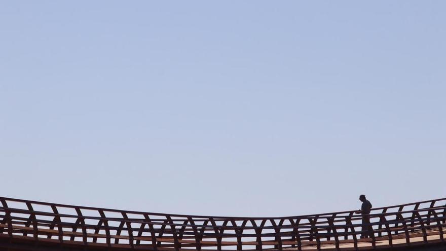 Ayuntamiento y Diputación inaugurarán la pasarela del Guadalhorce a final de mes