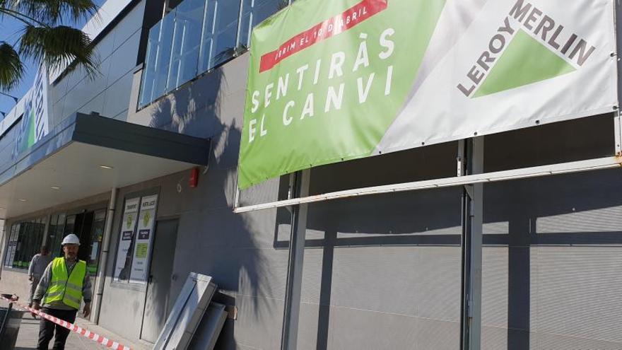 Leroy Merlin inaugura aquest dimarts la seva nova botiga a Platja d'Aro