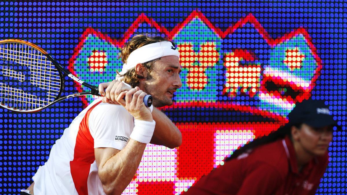Juan Carlos Ferrero, hace una década en el torneo de Umag