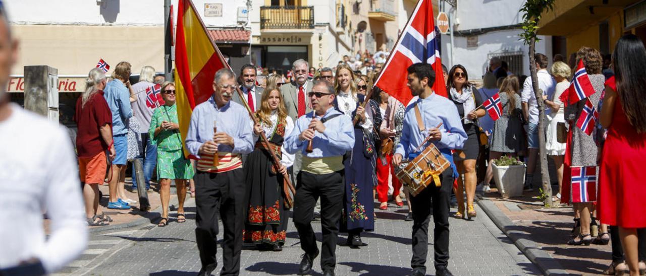 Celebración del Día Nacional de Noruega en l'Alfàs del Pi en 2019