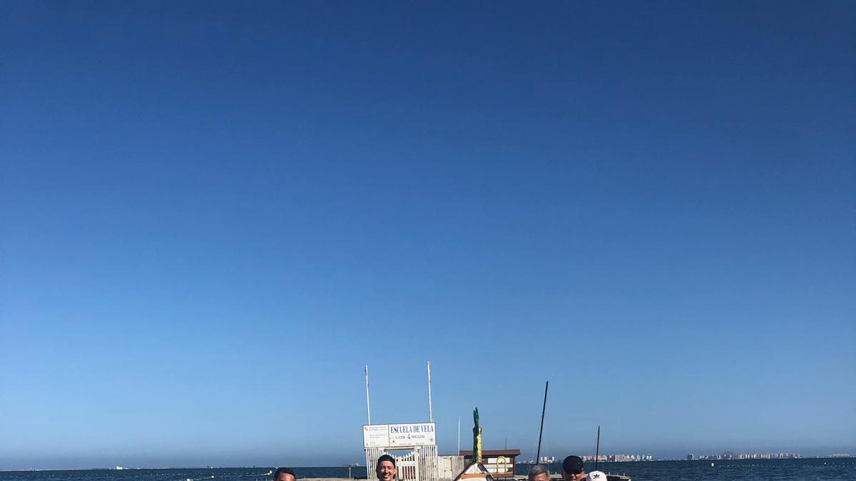 El club mar menor de piragüismo sale a flote este verano