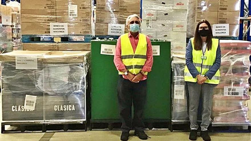 Mercadona dona 20 toneladas de productos a la Fundación Banco de Alimentos de Mallorca