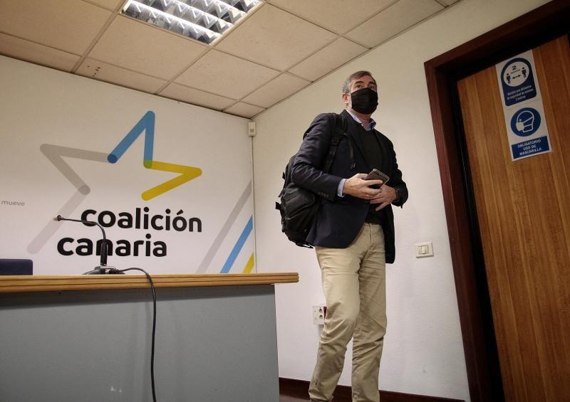 Fernando Clavijo presenta el Plan de Rescate Económico de Canarias