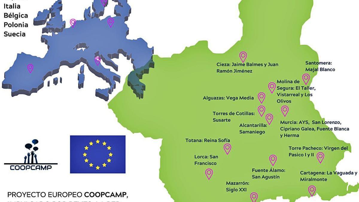 El espíritu cooperativo se potencia en las escuelas a través de COOPCAMP