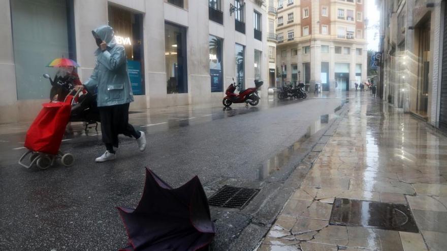 Lluvia y tormentas puntuales desde este martes en toda la provincia de Málaga