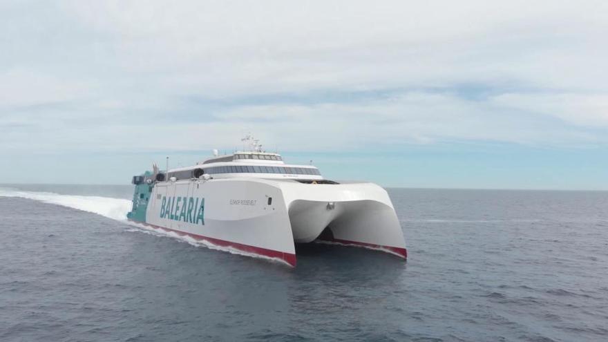 Nagelneue Mallorca-Fähre nimmt am 1. Mai den Betrieb auf