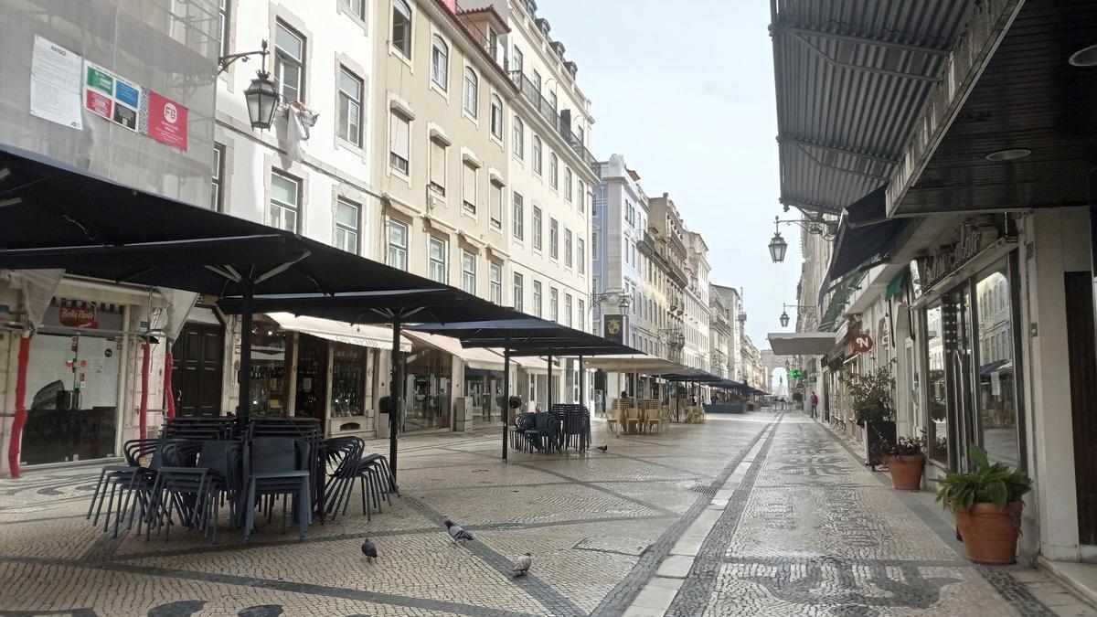 Comercios y establecimientos de hostelería cerrados en Lisboa