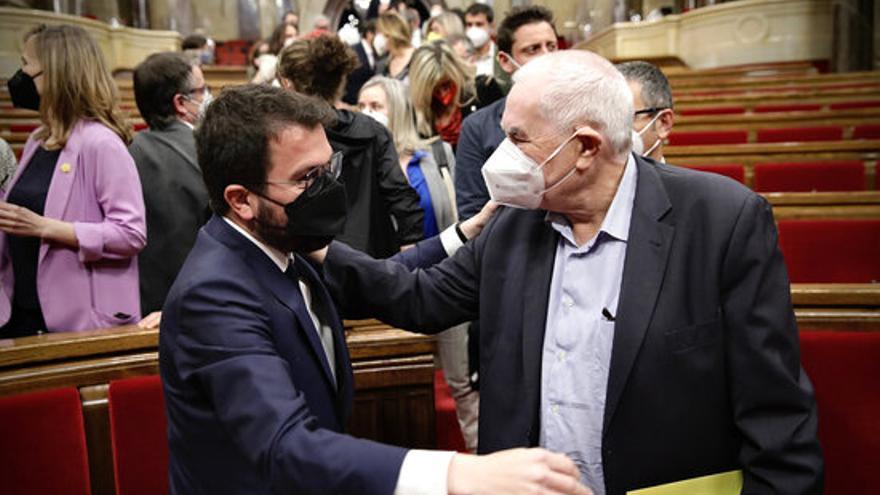 Aragonès: «Ernest Maragall té tot el meu recolzament si fa el pas per ser candidat d'ERC»