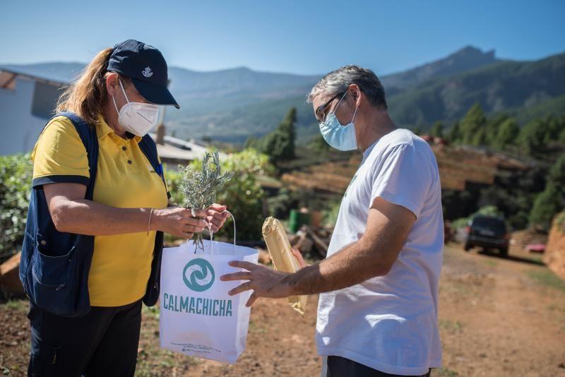Entrevista con Elizabeth, cartera rural en Arafo
