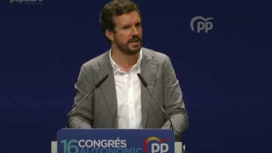 """Casado: """"A les Illes Balears no parleu català i no sou part de no sé quins Països Catalans"""""""