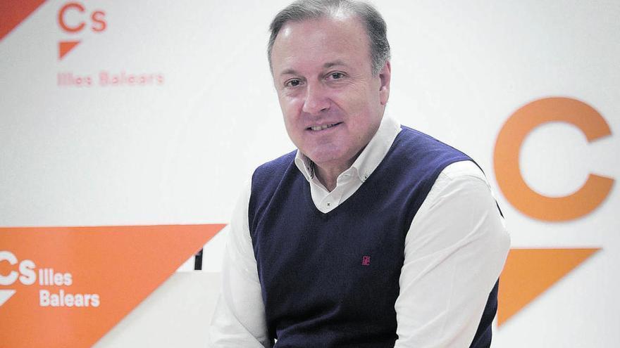 Ciudadanos nombra a Joan Mesquida como el nuevo líder del partido en Baleares