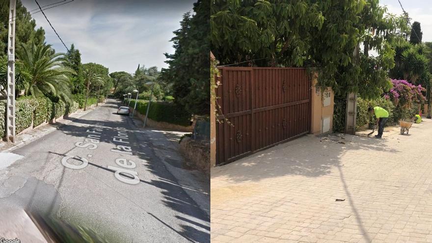 IU reprocha que el Ayuntamiento destine medio millón de euros a arreglar una calle sin salida del Brillante