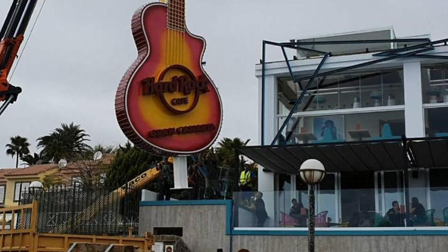 Todo listo para la apertura del nuevo Hard Rock Café Gran Canaria
