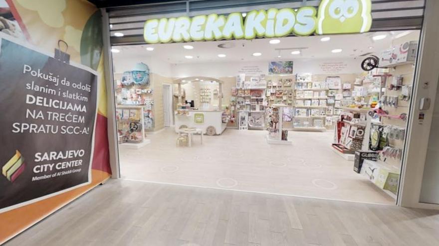 Eurekakids obre la seva primera botiga a Bòsnia  i Hercegovina