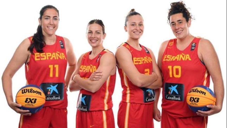 Dos valencianas, en la selección española de 3x3
