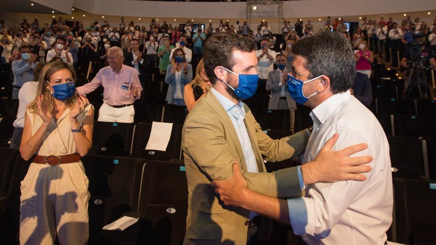Casado clausurará el congreso regional del PP para evidenciar su apoyo a Mazón