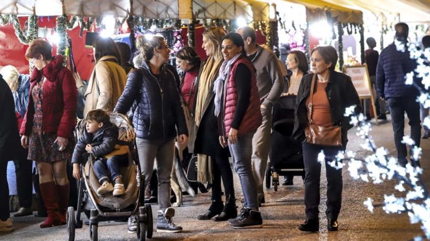 El mercado navideño se traslada a Sagunt