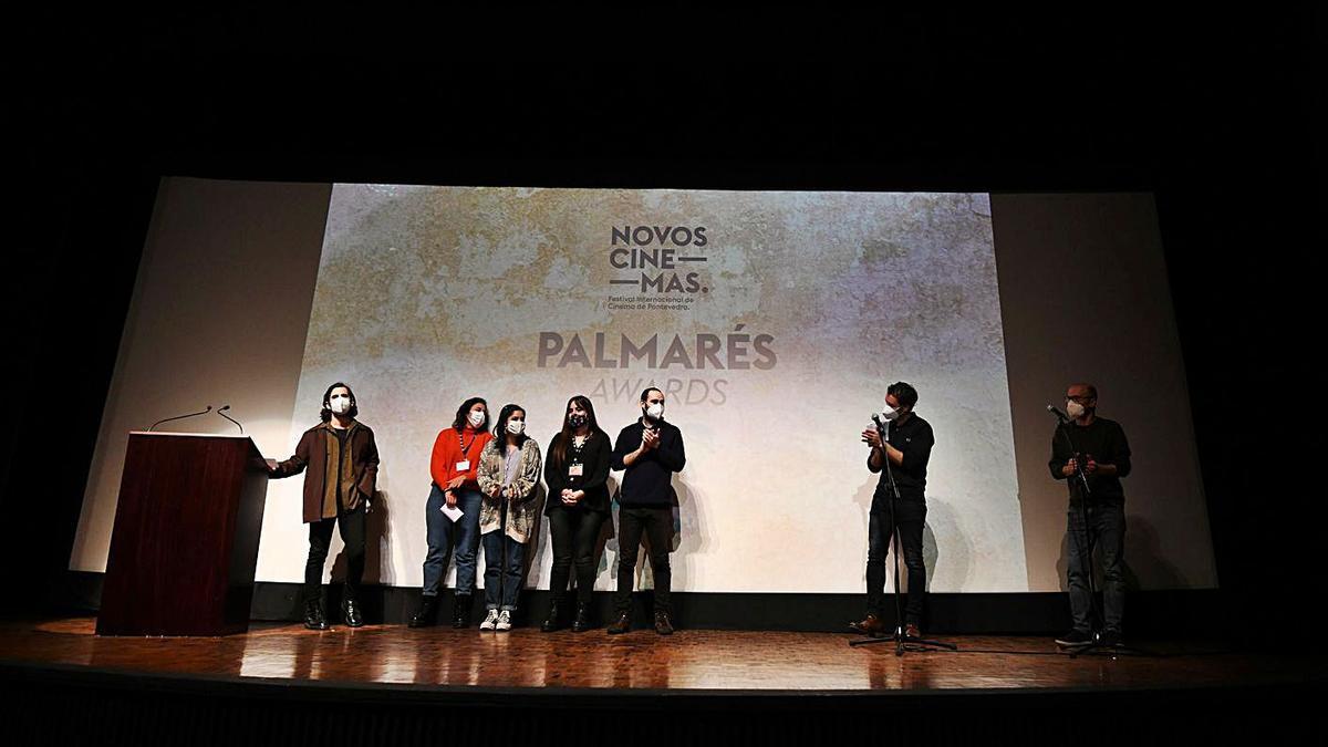 El Teatro Principal acogió la entrega de premios.   | // GUSTAVO SANTOS