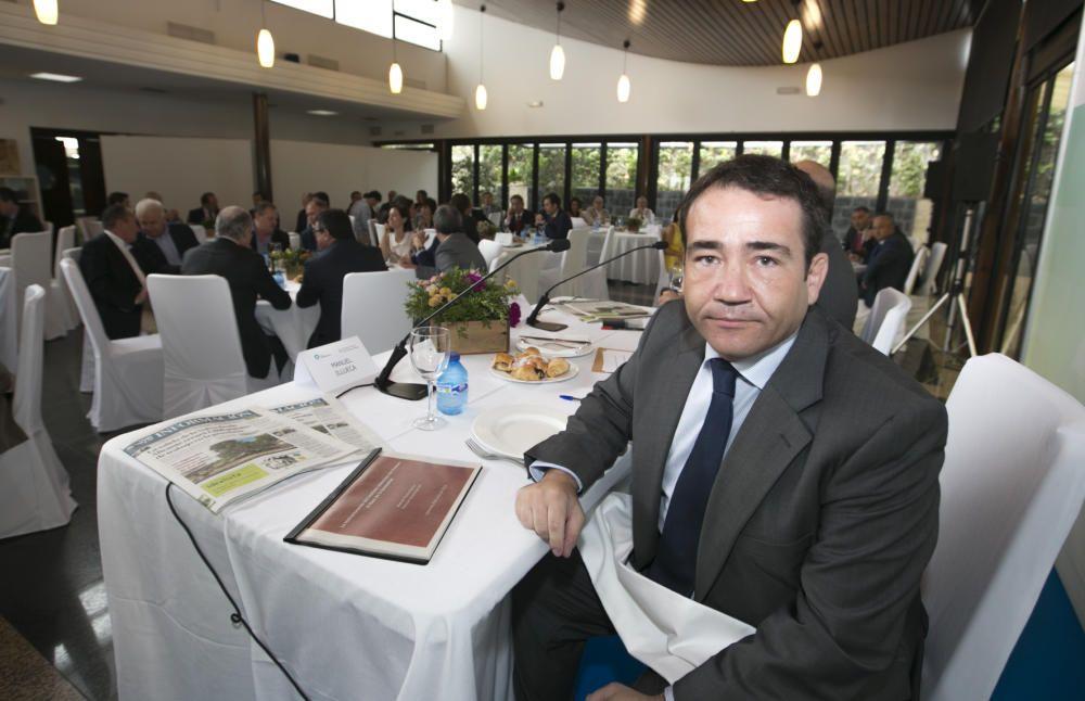 Manuel Illueca en el Foro Club INFORMACIÓN-Universidad de Alicante