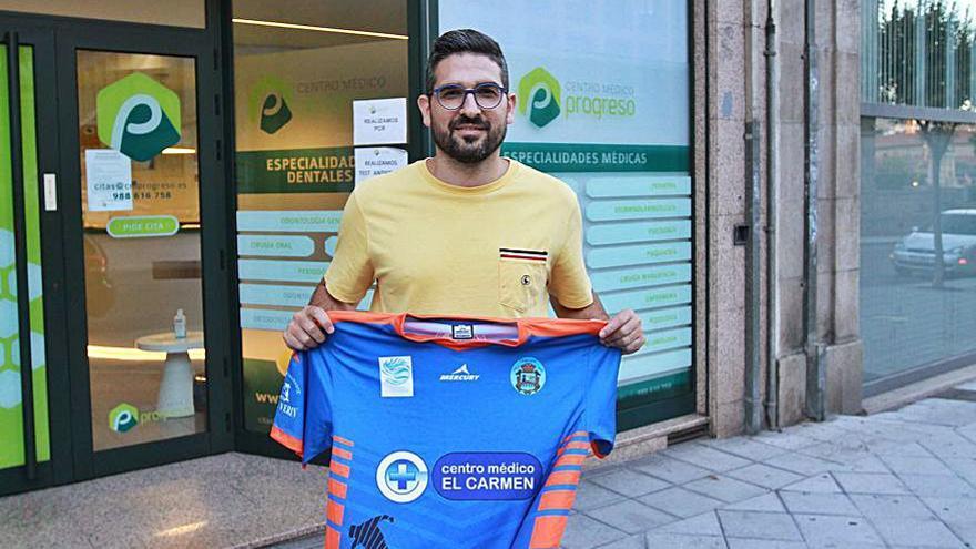David Guerra regresa a las filas del Sala Ourense