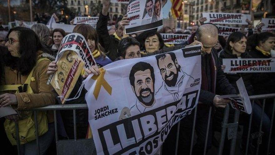 Amnistía Internacional critica la sentencia del 'procés' y pide la liberación inmediata de Sànchez y Cuixart