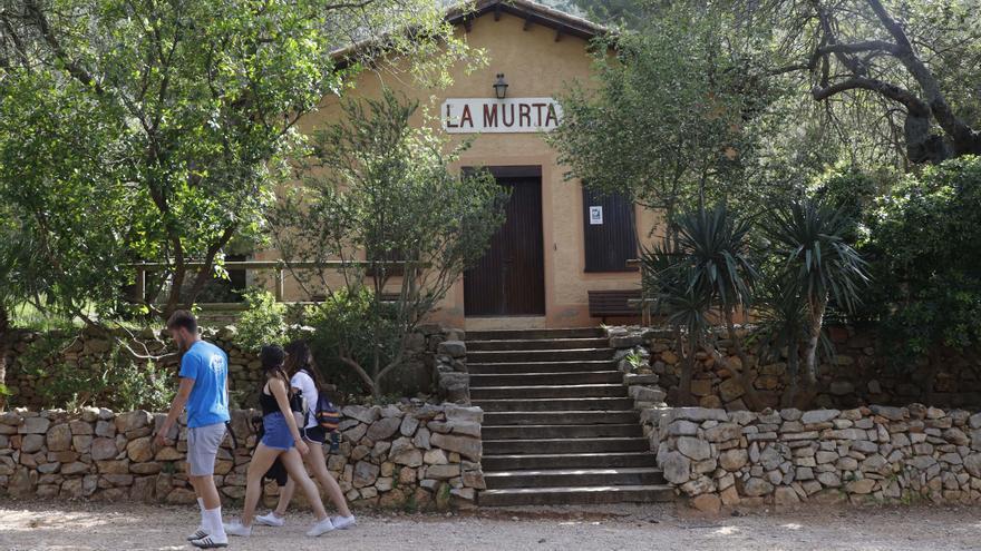 Alzira cierra por la ola de calor La Murta y La Casella y Carcaixent l'Hort de Soriano