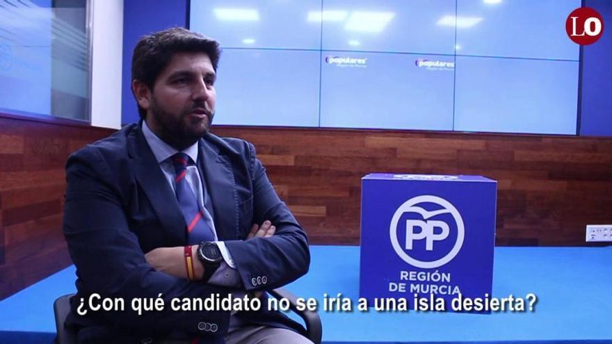Conoce a Fernando López Miras (PP) en un minuto