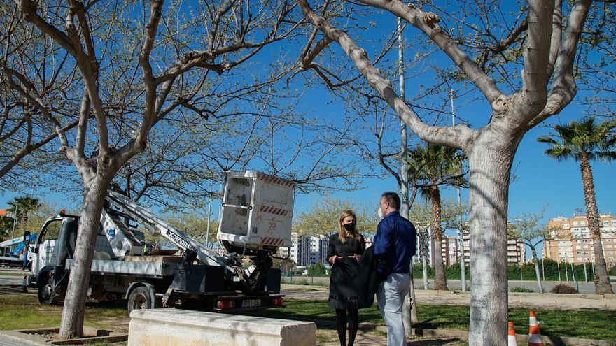 Las calles de Castelló que han estrenado luminaria LED