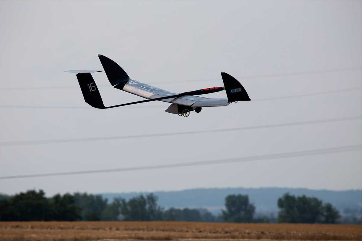 Aeronave que compitió en ediciones anteriores