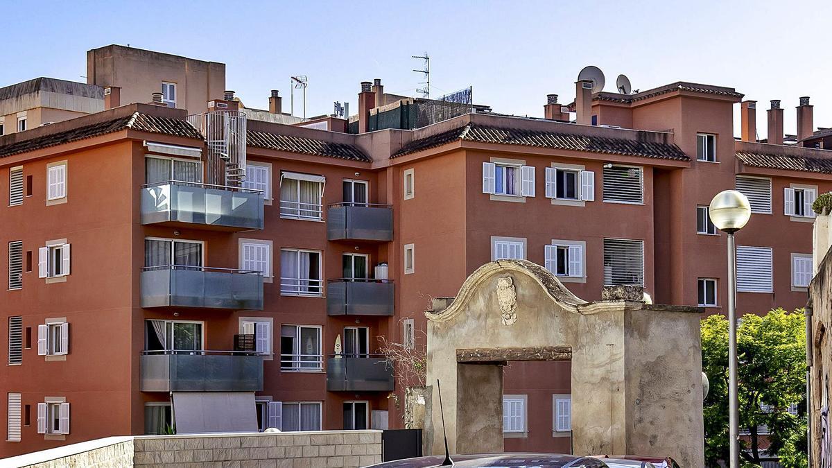La finca se ubica en el barrio El Terreno, en Palma, donde el alquiler en pisos está prohibido.