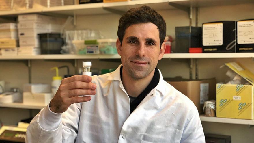 El científico gallego César de la Fuente, galardonado con el Premio Princesa de Girona