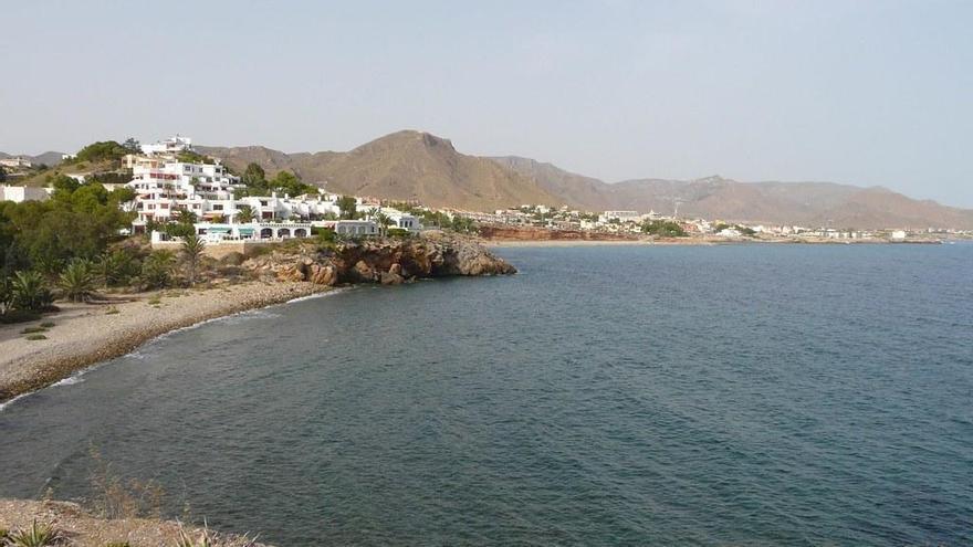 Itinerario sumergido gratuito en la playa de Isla Plana de Cartagena