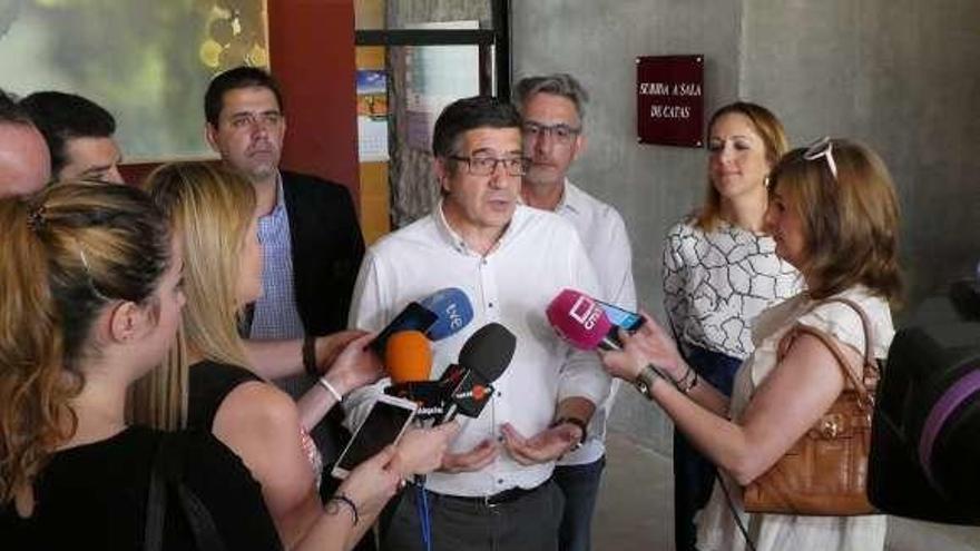 """Patxi López: """"El Gobierno quiere dialogar; habrá que ver si quiere Torra"""""""