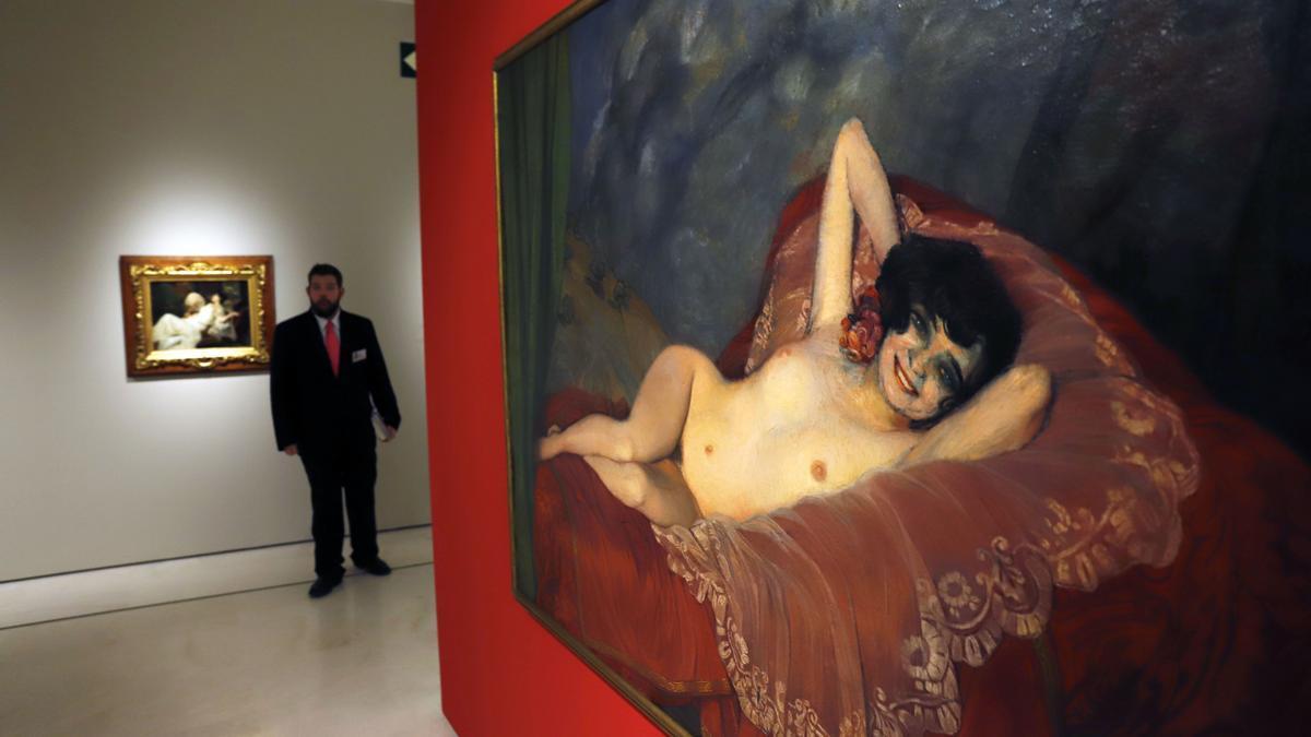 Una de las obras que componen el Museo Thyssen