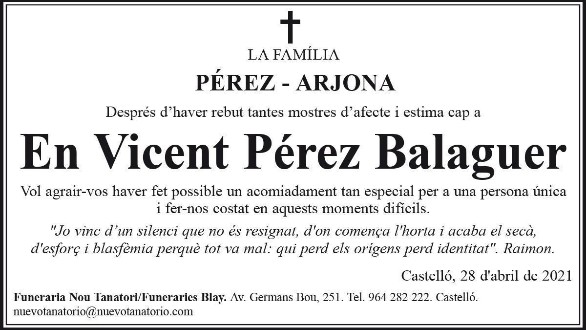 En Vicent Pérez Balaguer