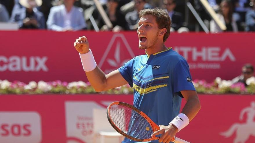 Pablo Carreño debuta con triunfo ante Simon en el Masters de Roma