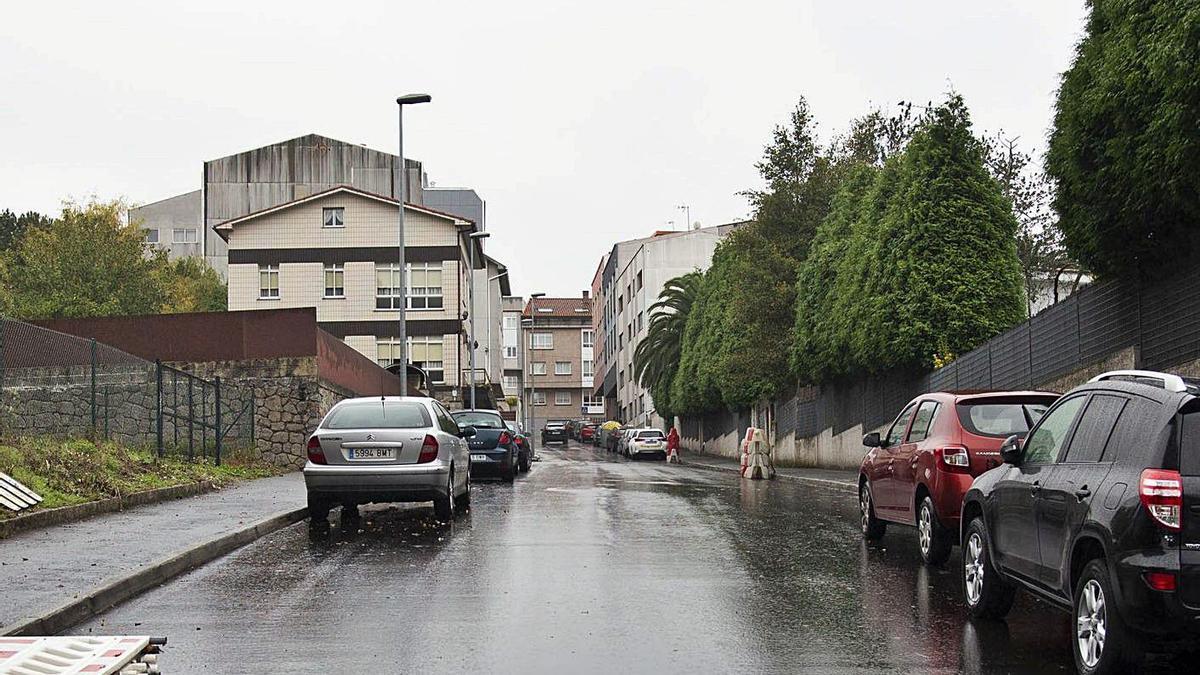 Vista de una calle en Perillo. |   // MIGUEL MIRAMONTES/ROLLER AGENCIA