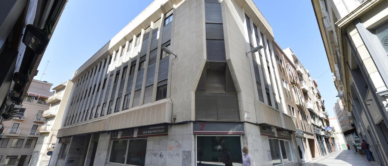 El edificio de la Tesorería de la Seguridad Social es la principal opción para convertirse en la sede de la nueva agencia.