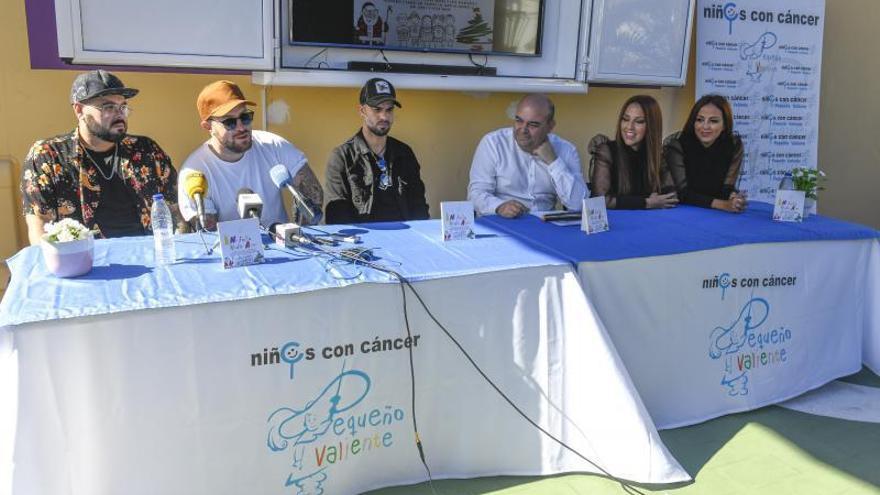 Catorce cantantes canarios apoyan a los niños con cáncer a través de una canción