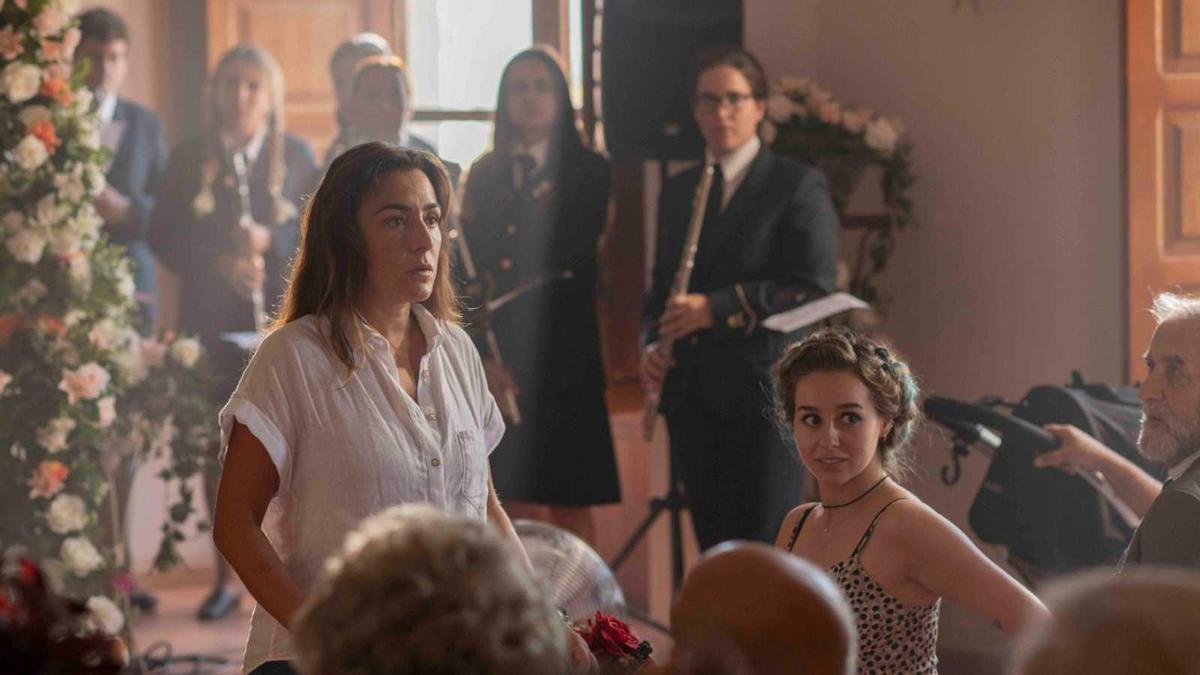 Una de las escenas de 'La boda de Rosa', de Icíar Bollaín.