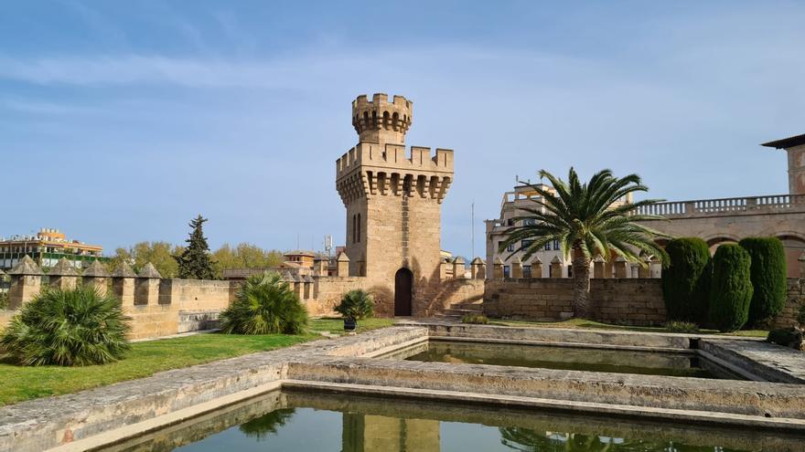 La Almudaina abre al público las Albercas Reales y la Torre dels Caps