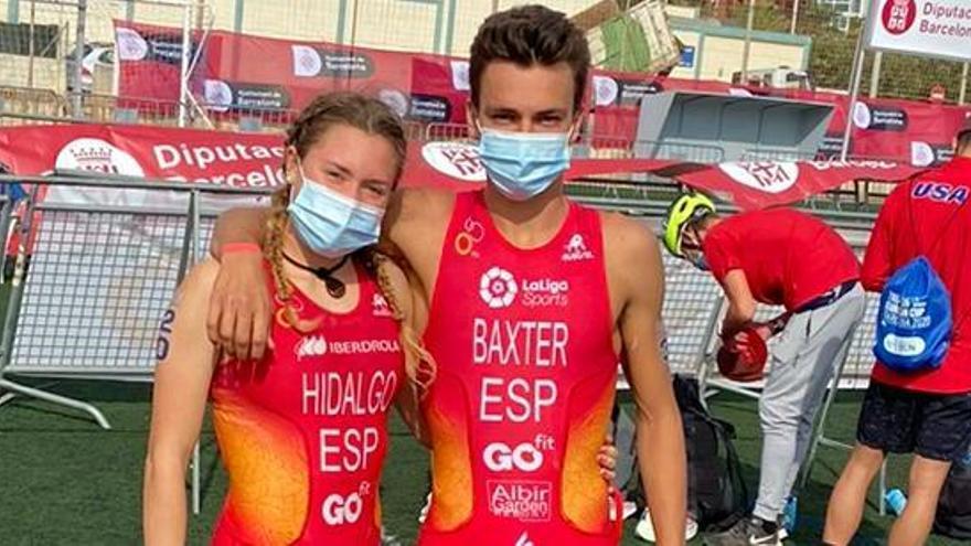 Tres murcianos junto a la élite mundial de triatlón