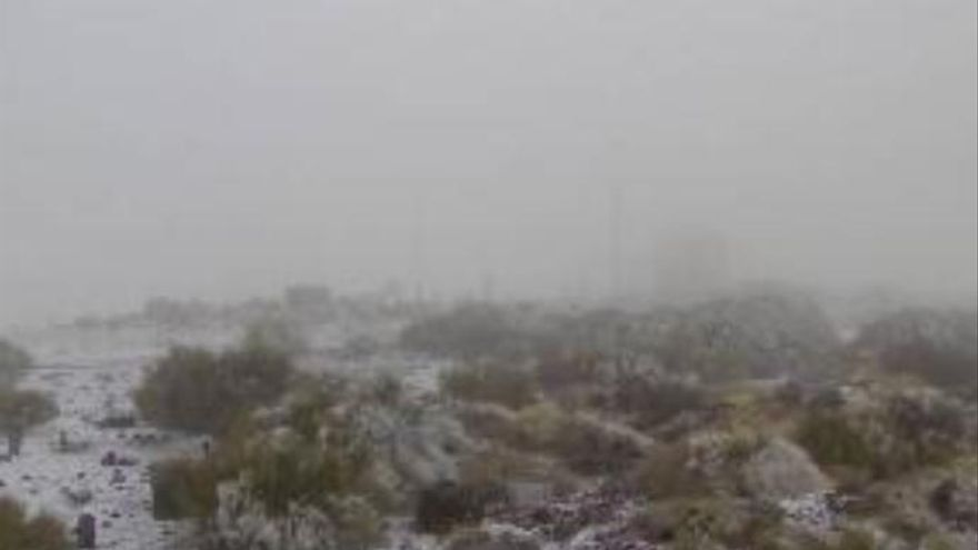 El Teide recibe las primeras nieves del año